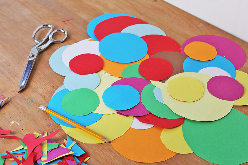 Supplies for Paper Crafts for Kids