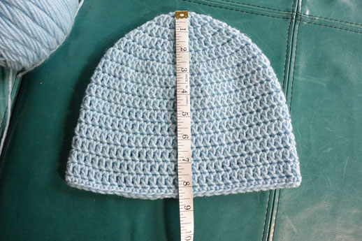 Determining the Size a Crochet Hat
