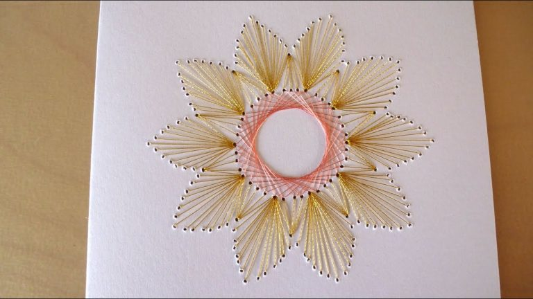 beautiful Paper Embroidery