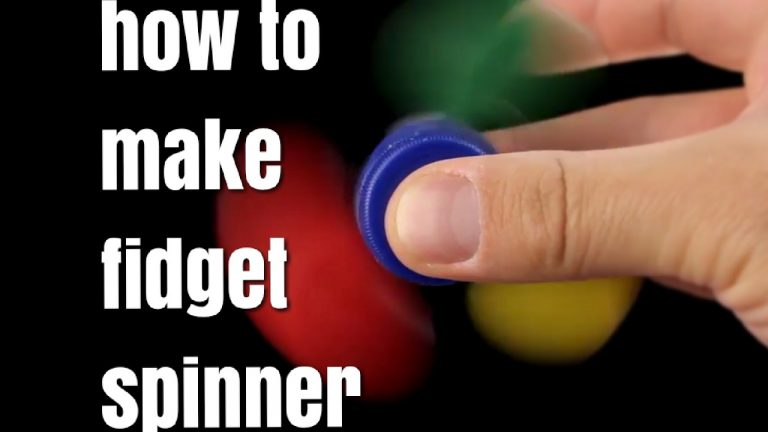 How to Make a Fidget Spinners