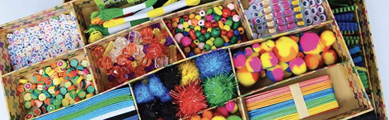 things inside of the box and craft ideas for adults