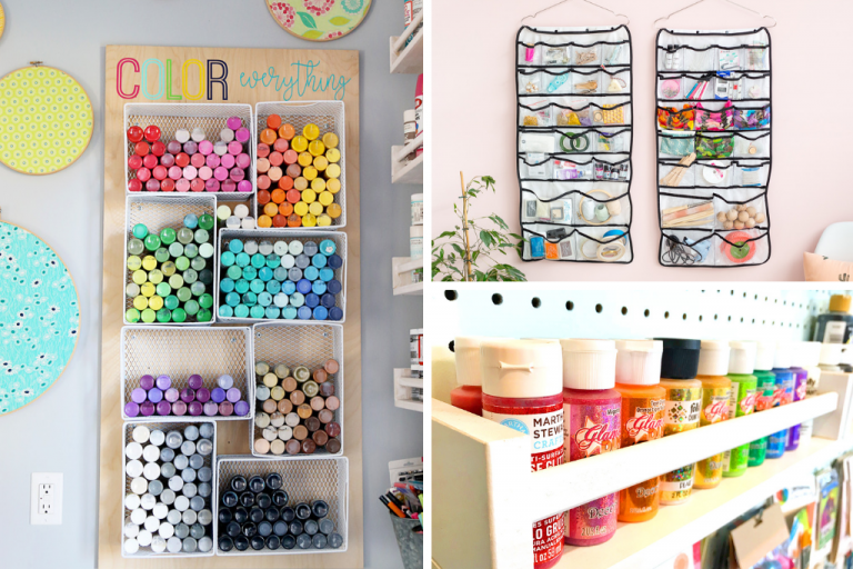 wall rack and craft ideas for adults
