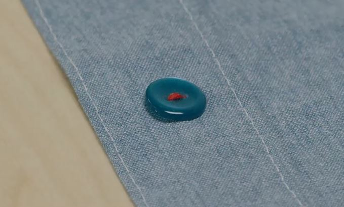 Sew a Button in a Pinch on how to sew a button
