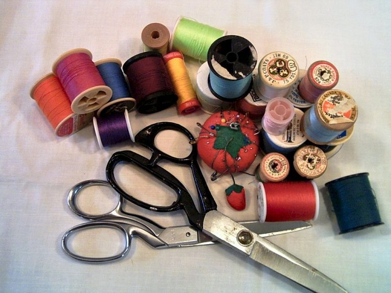 Sewing Supplies on how to sew a button