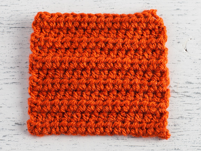 variations on the basic to  how to double crochet