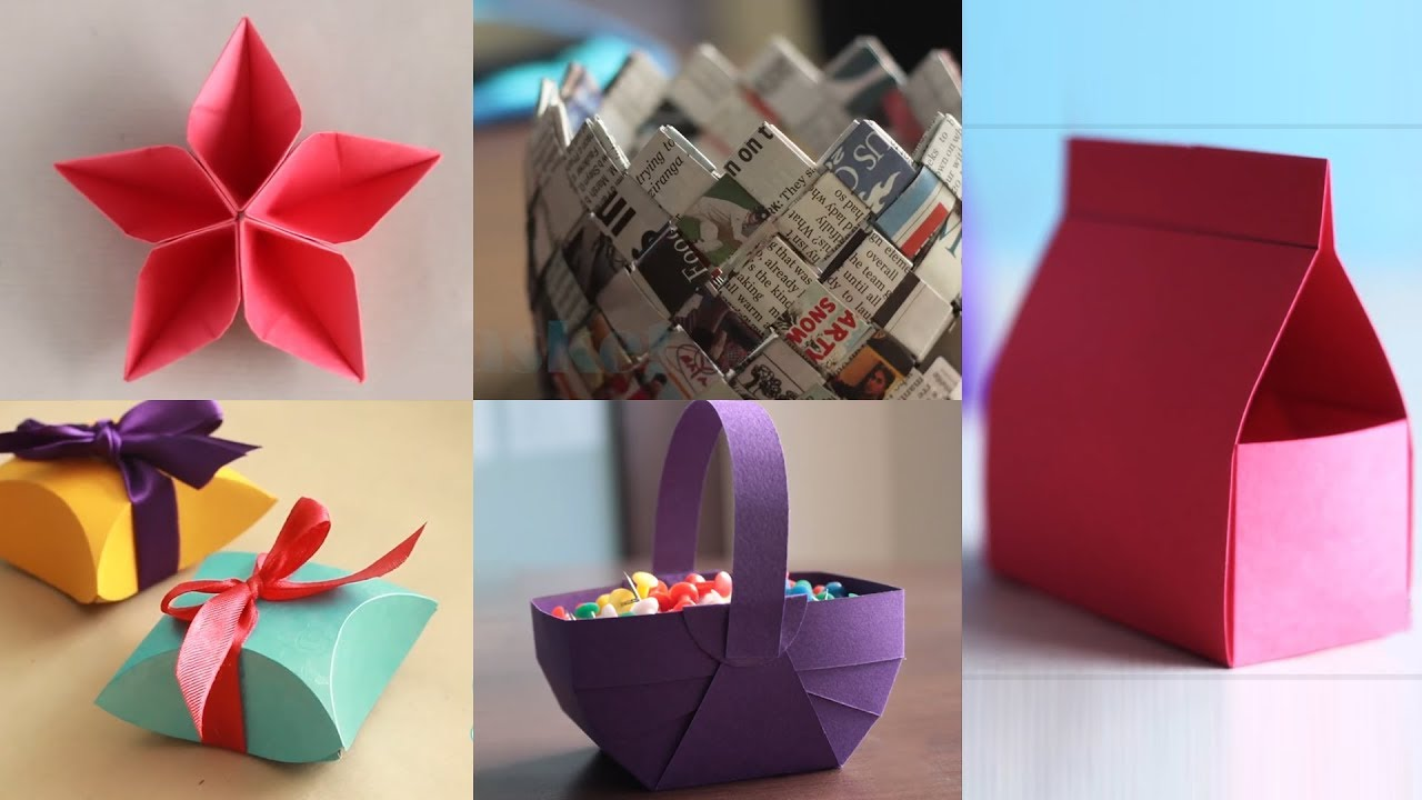 Paper Crafts: How to Unleash Your Own Creativity - Create ...